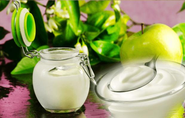elmalı yoğurt kürü