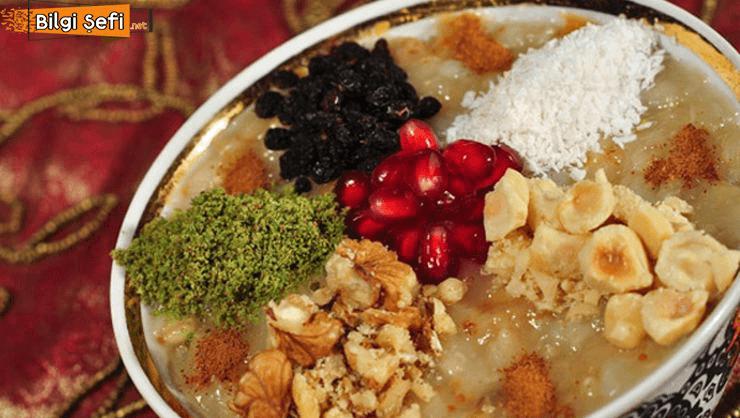 lezzetli aşure nasıl yapılır tarifi