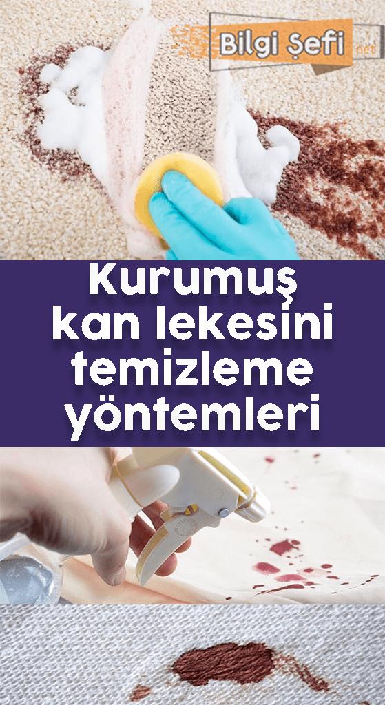 kurumus kan lekesi temizleme yontemleri