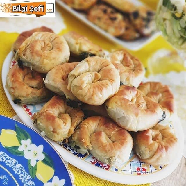 dereotlu ıspanaklı börek