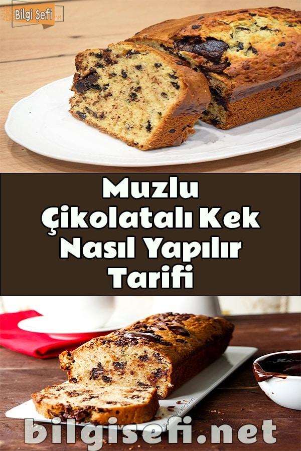 Muzlu Çikolatalı Kek Nasıl Yapılır Tarifi