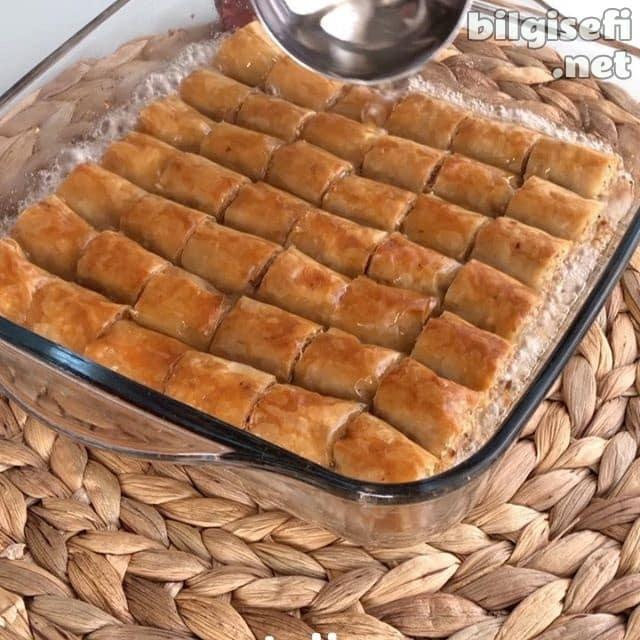 Fındıklı baklava tarifi - oldukça pratik ve lezzetli