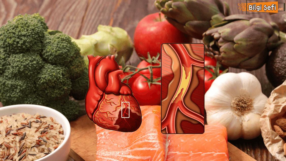 Tıkanmış damarları temizleyen en iyi 9 besin